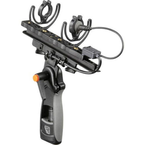 Rycote 040143 Modular Suspension Medium (MZL), includes Connbox 9 - MZL and 62 shore light Lyres, for MKH8060 in Windshield 2