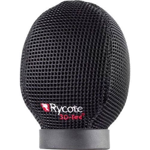 Rycote 033206 5cm Super-Softie, Large Hole (24/25), Premium push-on Windshield with 3D-Tex™
