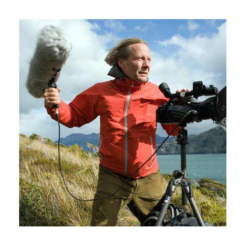 RODE NTG-3 Shotgun mic in wind