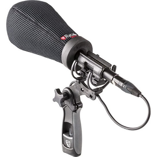 Rycote 033201 12cm Super-Softie, Standard Hole (19/22), Premium push-on Windshield with 3D-Tex™