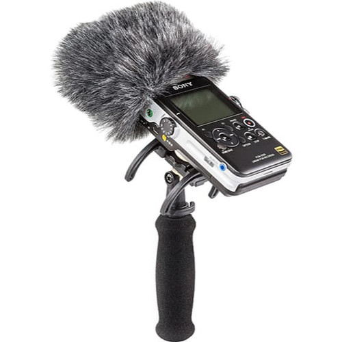Rycote 046024 Portable Recorder Kit for Sony PCM-D100, incl. Shockmount, Mini Windjammer® and Extension Handle