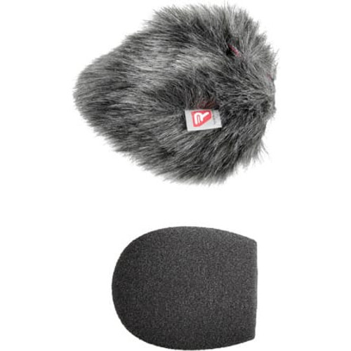 Rycote 055201 5cm Standard Hole SGM Foam (19/22) Windscreen + Windjammer® Combo