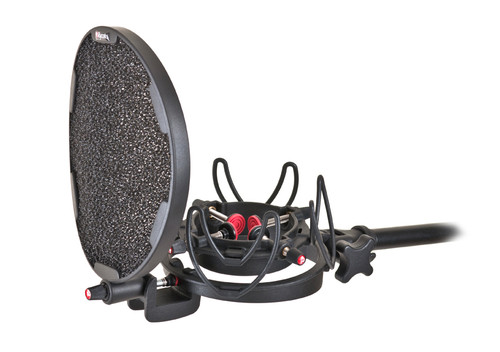 Rycote 045002 InVision Studio Kit, Includes USM Studio Mount and Pop Filter