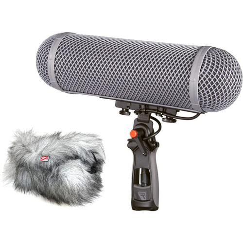 Rycote 086069 Modular Windshield 3 Kit (XLR-5), w/ Connbox 4: Windshield and Windjammer