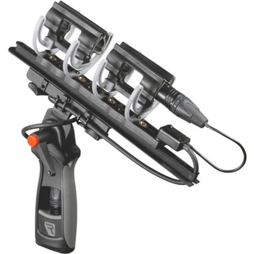 Rycote 086069 Modular Windshield 3 Kit (XLR-5), w/ Connbox 4: Suspension Mounts, Connbox 4, Pistol Grip