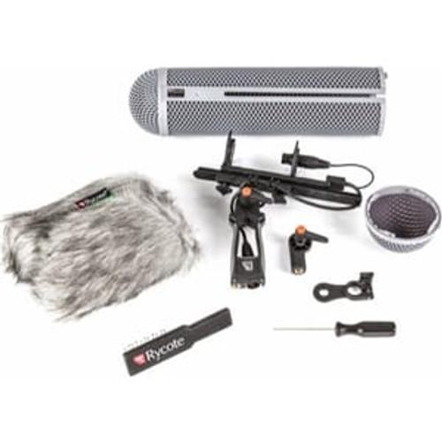 Rycote 086013 Modular Windshield 5 Kit (XLR-5), includes Connbox 4, For Sanken CSS-5