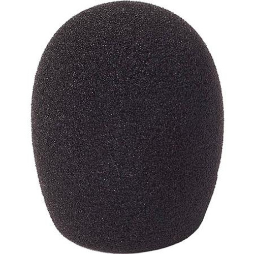 Rycote 103107 5cm Large Hole SGM Foam (24/25) Windscreen, Black, (10 Pack)