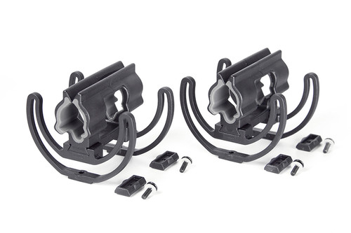 Rycote 040137 Modular Duo-Lyre® Pair (19/34), 68 shore, incl. Modular bar footers and screws