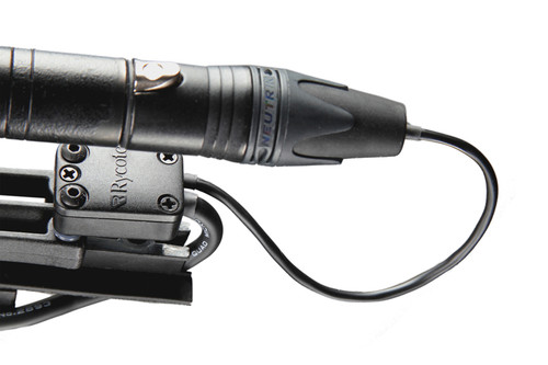 Rycote 016901 Connbox 1 Hardwired - For mono mics