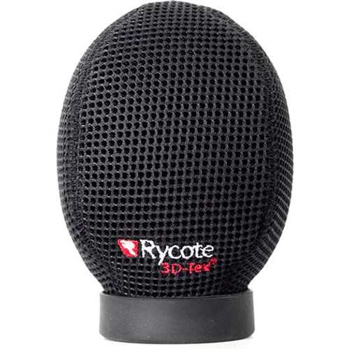 Rycote 033205 5cm Super-Softie, Standard Hole (19/22), Premium push-on Windshield with 3D-Tex™