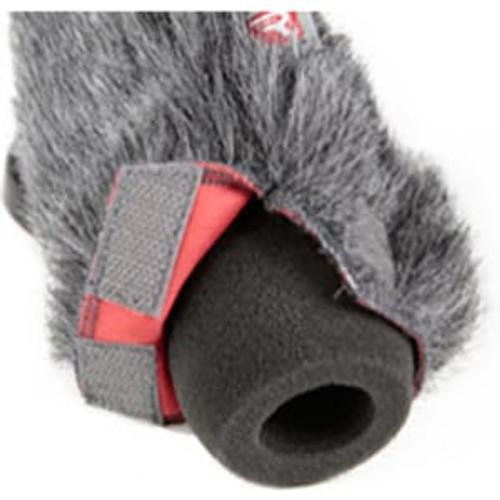 Rycote 055208 18cm Standard Hole SGM Foam (19/22) Windscreen + Windjammer® Combo