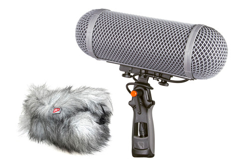 Rycote 086050 Modular Windshield 2-MZL Kit, w/ Connbox 9 - MZL for Sennheiser MKH8060 with MZF Low Cut Filter adaptor
