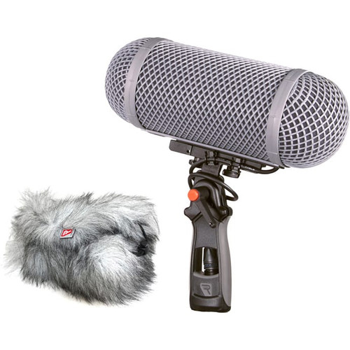 Rycote 086067 Modular Windshield 1-MZL Kit: Windshield and Windjammer