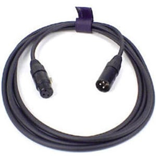 Remote Audio CAXLRQN10 Balanced microphone cable. XLR3F to XLR3M. 10 ft.