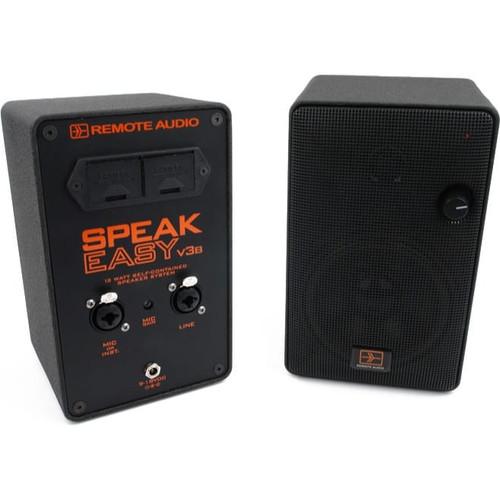 Remote Audio SPKEZV3B Speakeasy v3B. 12 Watt powered speaker.