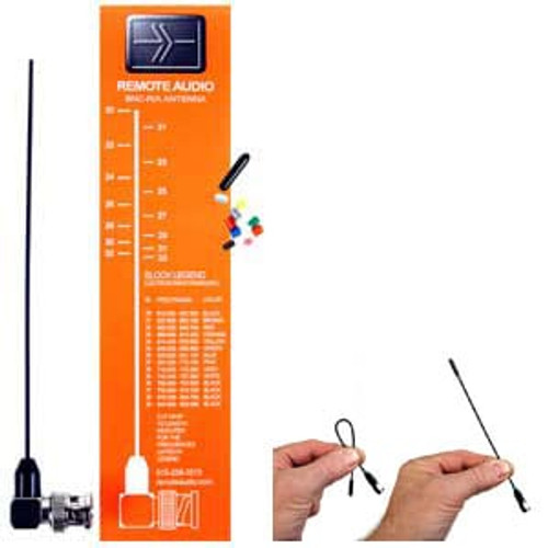 Remote Audio ANBNC-F BNC flexible antenna.