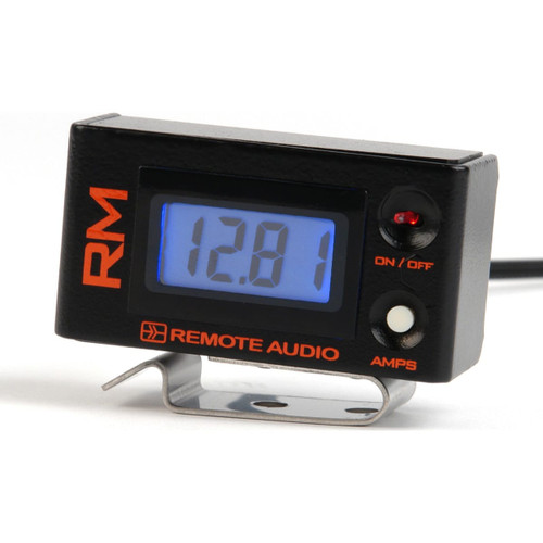 Remote Audio RMV2C RM v2. Remote meter displays voltage and current.