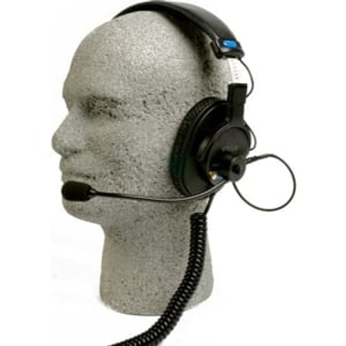 Remote Audio BCSHSEBS Modified Sony MDR-7506 headset with electret talkback microphone. 6 ft.