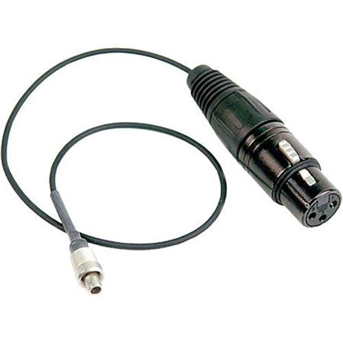 Remote Audio CAX3FL3M12PAD Unbalanced adapter cable with line to mic level attenuation. 12 in. Formerly CAZTRX900TC