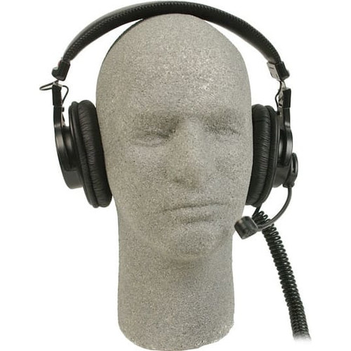 Remote Audio BCSHSDBS Modified Sony MDR-7506 headset with dynamic talkback microphone. 6 ft.