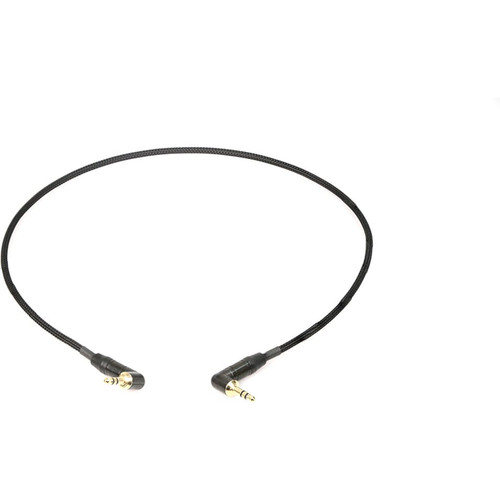 Remote Audio CA1/8LPAD Stereo jumper cable with line to mic level attenuation. 3.5mm RA TRS plug to 3.5mm RA TRS plug.