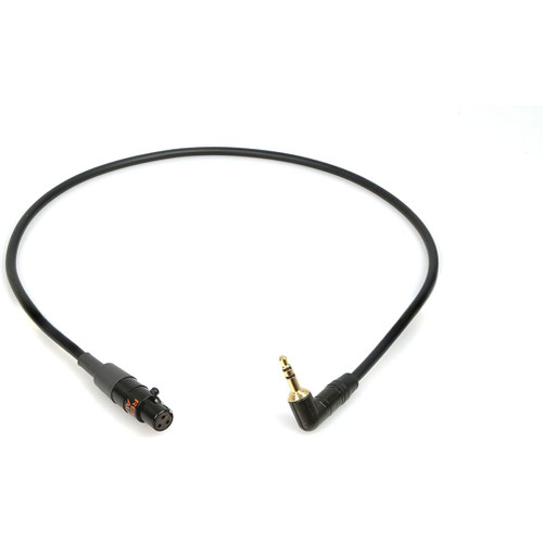 Remote Audio CAT3F1/8MS Unbalanced adapter cable. TA3F (balanced) to 3.5mm RA TS plug. 18 in.