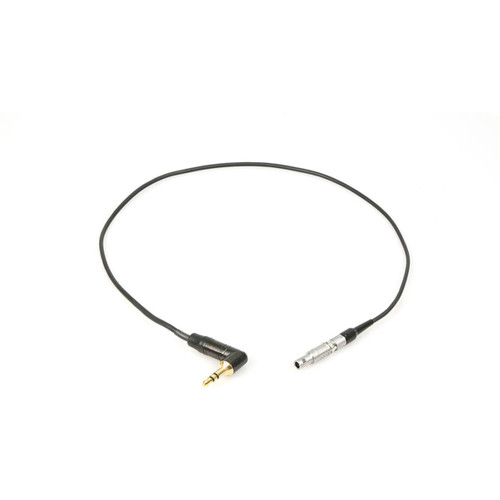 Remote Audio CATC1/8L4M Timecode adapter cable. 3.5mm RA TS plug to 4-pin Lemo M. 18 in. Can also be used with new Tentacle timecode sync box