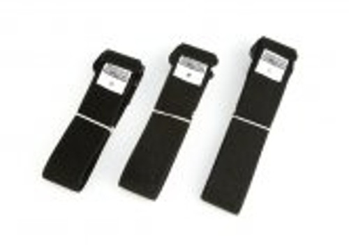 Sound Guys Solutions STRAP-BK 3-Pack (Black) Small, Medium, Large. Lavalier chest mounting strap