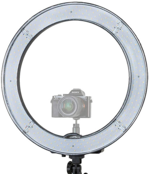 Prismatic LED Halo Bi-Color Ring Light
