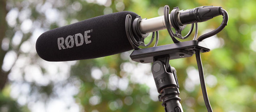 Rode SM4-R Rycote Lyre Shock mount for any standard mic stand or boompole.