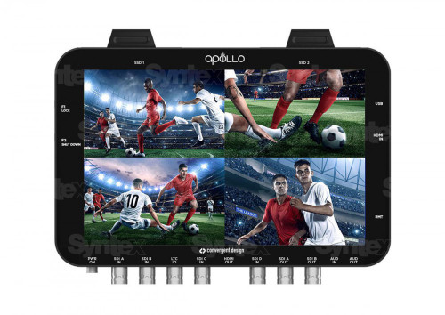 Convergent Design Apollo OLED Monitor, Recorder, Switcher
