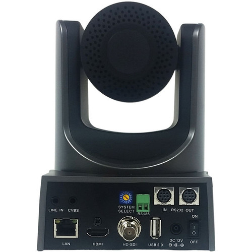 PTZOptics 20x-SDI Gen2 Live Streaming Camera (Gray)