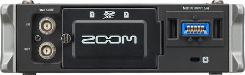 Zoom F4 Multitrack Field Recorder Front