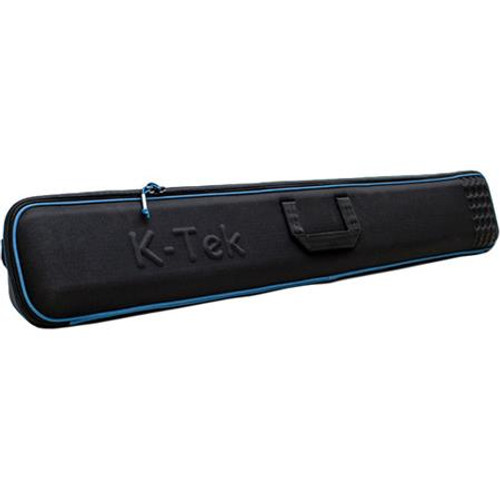 "K-Tek KBLT52B Boom Pole Case - Large Holds any pole with a minimum collapsed length of 52 inches and less. Semi-hard clam-shell style with zippers and removable inside pouch.  Shipping dimensions 52.5""L x 8.75""T x 6""W. WeighT: 3.0 lbs."
