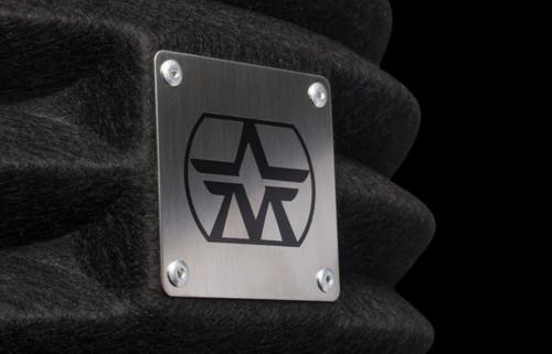 Aston Microphones Halo Reflection Filter, logo. (Black)