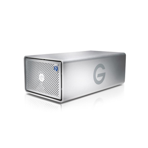 Add the speed and storage capabilities of RAID, Thunderbolt 2, and USB 3.0 to your Mac and Windows systems using the G-RAID 20TB 2-Bay Thunderbolt 2 RAID Array from G-technology