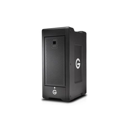 The G-SPEED Shuttle XL 80TB 8-Bay Thunderbolt 2 RAID Array from G-Technology is built with a transportable design that helps make it suitable for use in the field