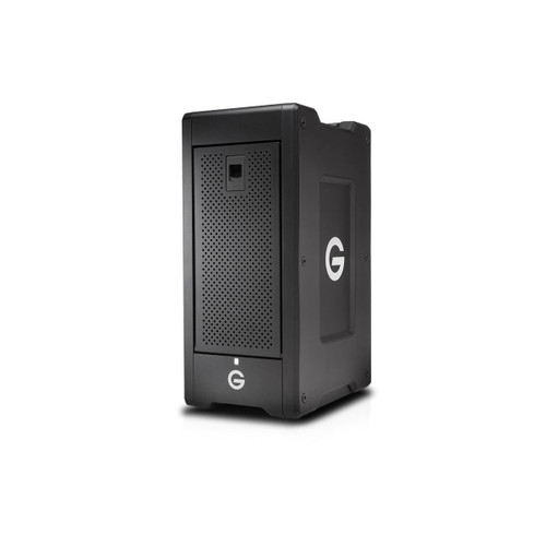The G-SPEED Shuttle XL 60TB 8-Bay Thunderbolt 2 RAID Array from G-Technology is built with a transportable design that helps make it suitable for use in the field.