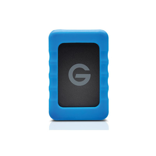 The 1TB G-DRIVE ev RaW USB 3.0 Hard Drive with Rugged Bumper from G-Technology is designed for those who require on-the-go access to their files.