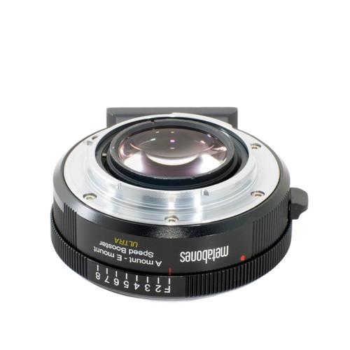 Metabones MB_SPA-E-BM2 Sony Alpha to E-mount Speed Booster ULTRA 0.71x (Black Matt)