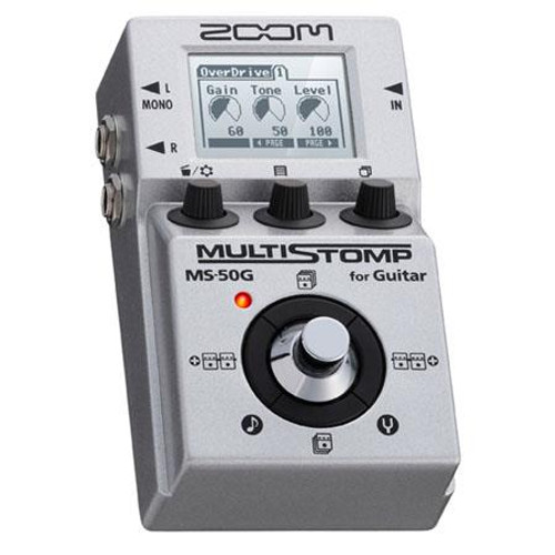 Zoom ZMS-50G Multistomp Guitar Pedal