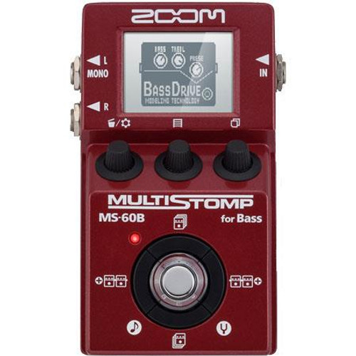 Zoom ZMS-60B Multistomp Bass Pedal Front