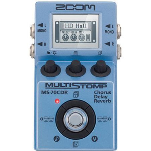 Zoom ZMS-70CDR Multistomp Pedal - Chorus/Delay Reverb