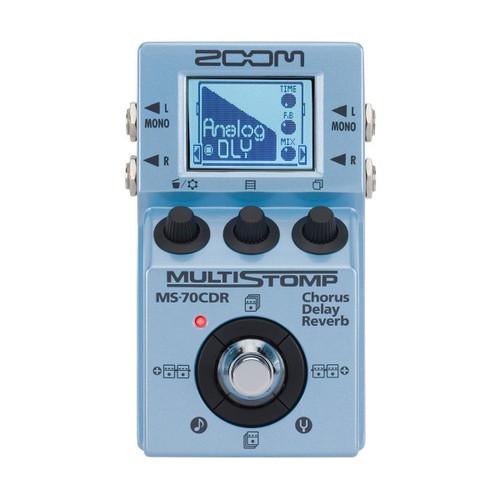 Zoom ZMS-70CDR Multistomp Pedal - Chorus/Delay Reverb
