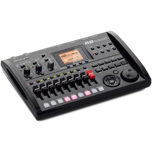 Zoom ZR8 Recorder/Interface/Controller/Sampler