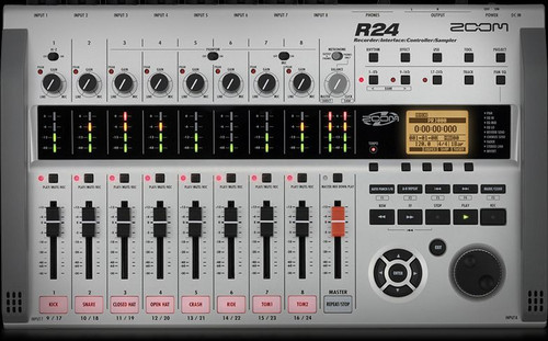 Zoom ZR24 Recorder/Interface/Controller/Sampler