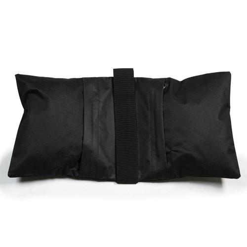 Prismatic Saddle Sandbag (20 lb, Black, Empty)