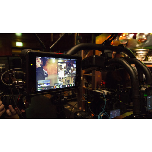 Atomos Ninja Inferno HDR 4KP60 Recording Monitor in use
