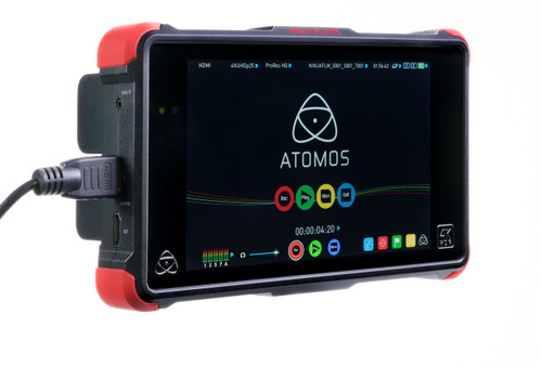 Atomos Ninja Flame HDR Monitor In Use