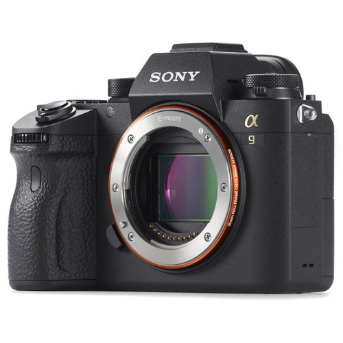 Sony Alpha a9 Front Left View